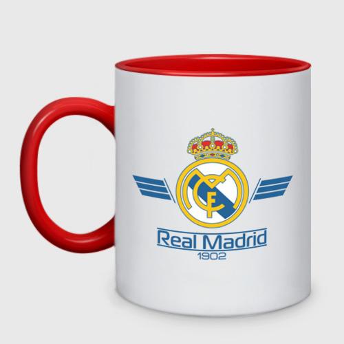 Кружка двухцветная Real Madrid 1902