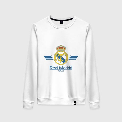Женский свитшот хлопок Real Madrid 1902