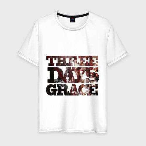 Мужская футболка хлопок Three days grace (dark)