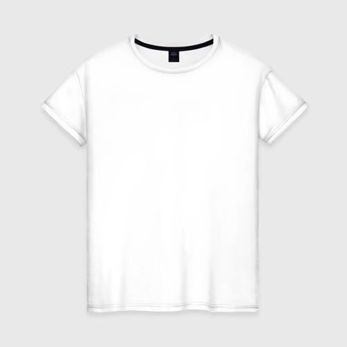Женская футболка хлопок Дороги созданы для эндуро