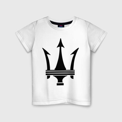 Детская футболка хлопок Maserati