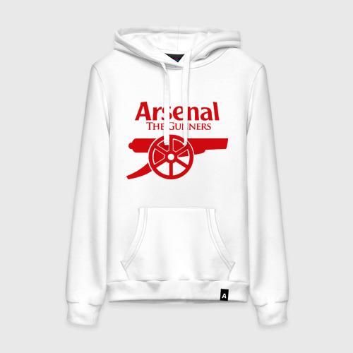 Женская толстовка хлопок Arsenal