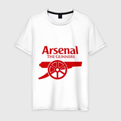 Мужская футболка хлопок Arsenal