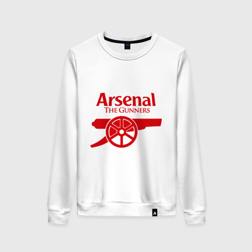 Женский свитшот хлопок Arsenal