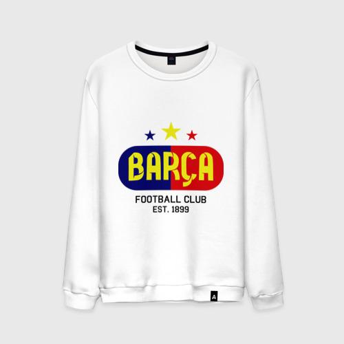 Мужской свитшот хлопок Barcelona Football club