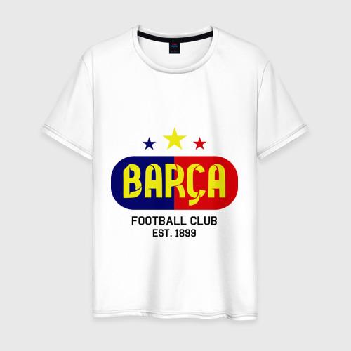 Мужская футболка хлопок Barcelona Football club