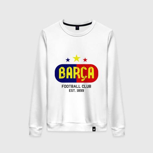 Женский свитшот хлопок Barcelona Football club