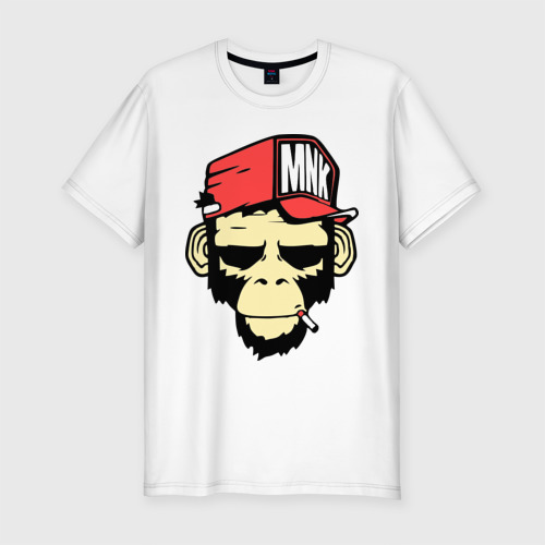 Мужская футболка хлопок Slim Monkey Swag