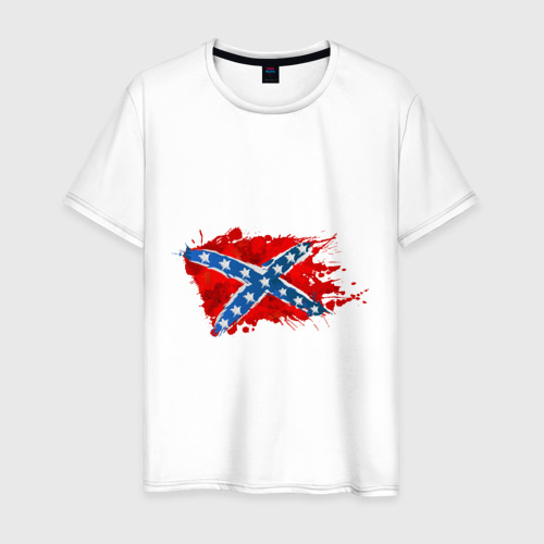 Мужская футболка хлопок Конфедерация брызги
