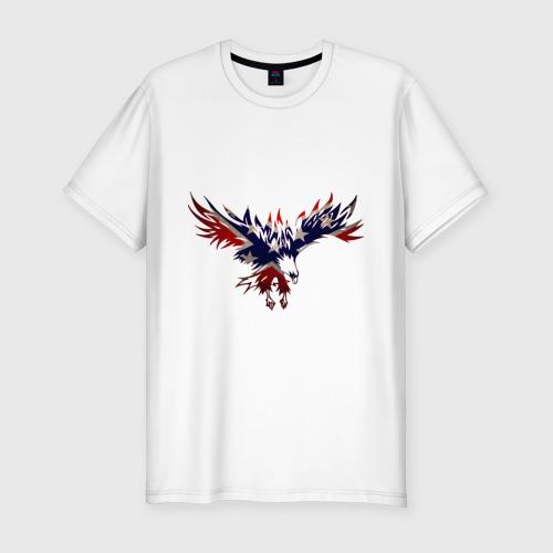 Мужская футболка хлопок Slim Орел
