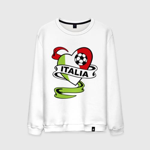 Мужской свитшот хлопок Сборная Италии по футболу