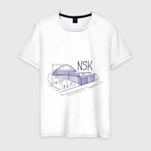 Мужская футболка хлопок NSK