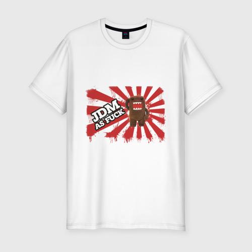 Мужская футболка хлопок Slim DOMO-JDM
