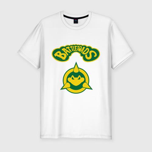 Мужская футболка хлопок Slim Боевые Жабы
