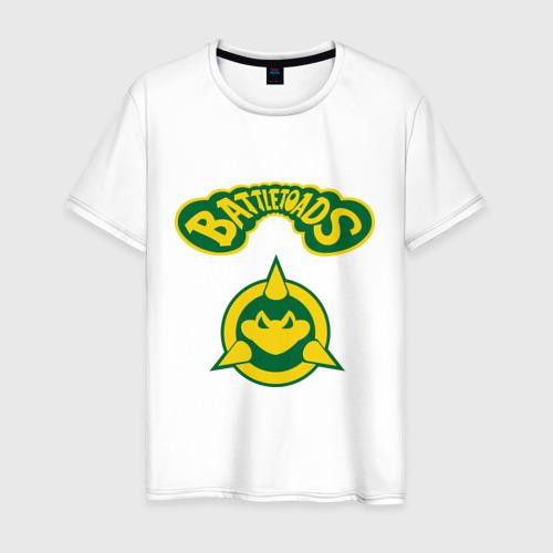 Мужская футболка хлопок Боевые Жабы
