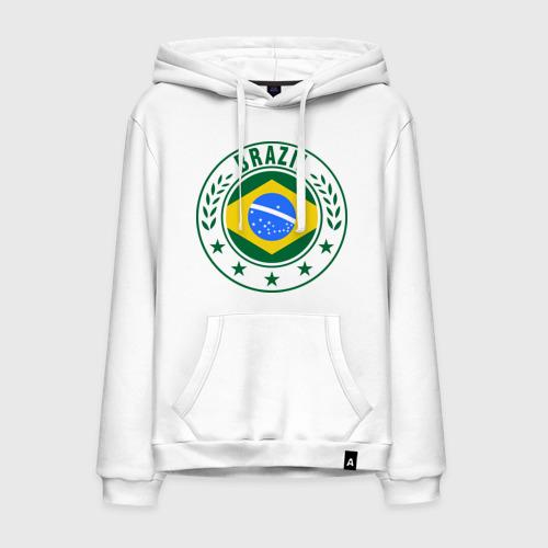 Мужская толстовка хлопок Brazil - Бразилия ЧМ-2014