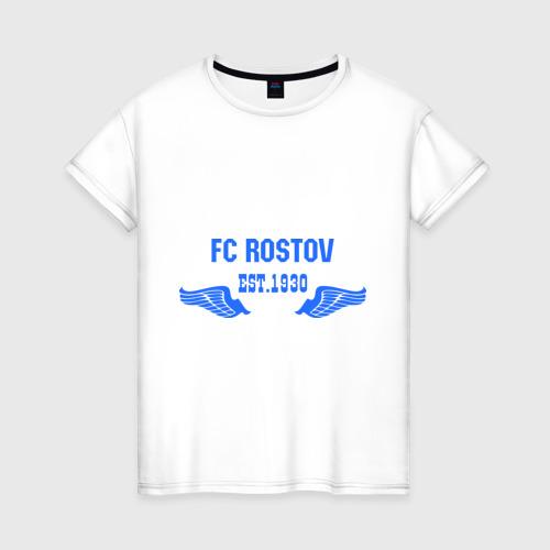 Женская футболка хлопок FC Rostov