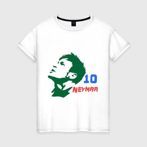 Женская футболка хлопок Неймар (Neymar)
