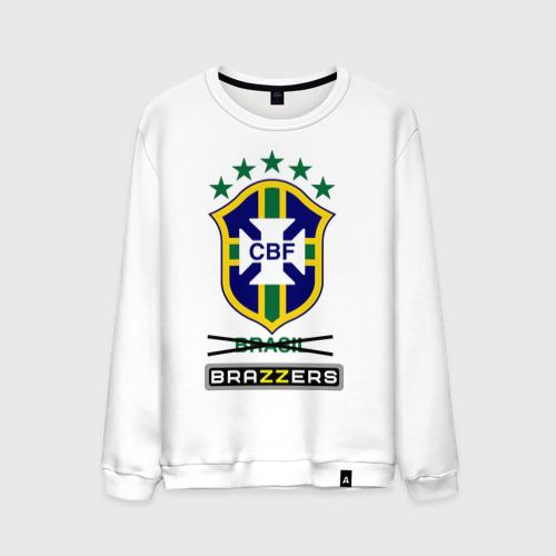 Мужской свитшот хлопок Сборная Бразилии по футболу