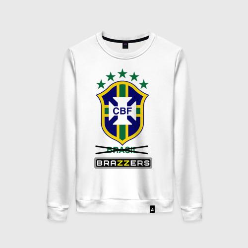 Женский свитшот хлопок Сборная Бразилии по футболу