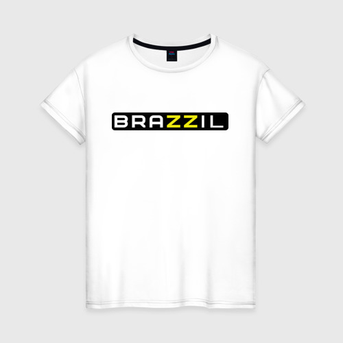 Женская футболка хлопок Brazzil