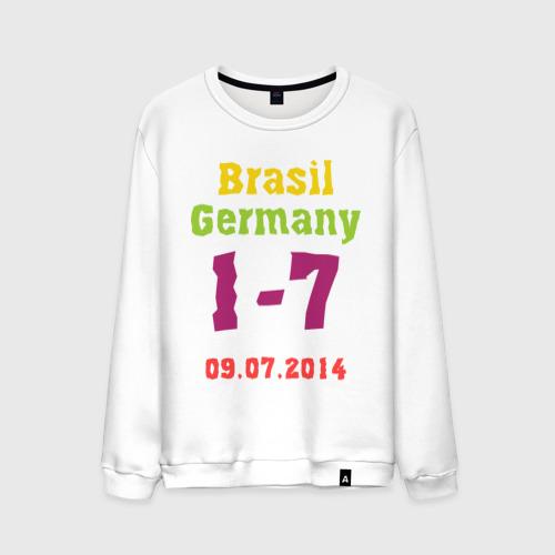 Мужской свитшот хлопок Бразилия - Германия