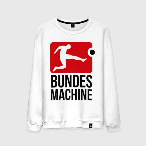 Мужской свитшот хлопок Bundes machine football
