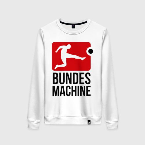 Женский свитшот хлопок Bundes machine football