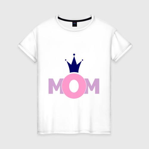 Женская футболка хлопок Mom