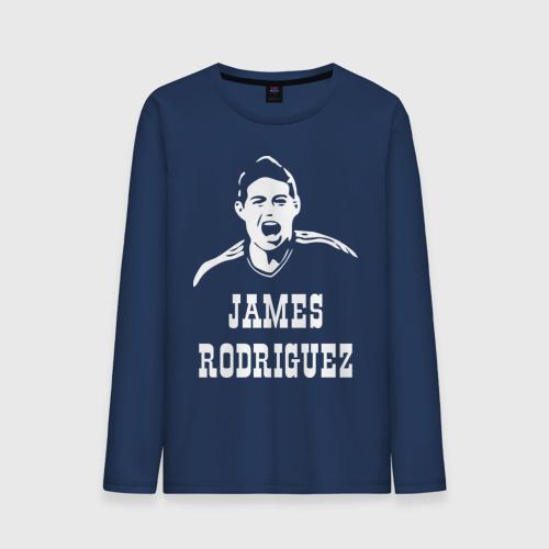 Мужской лонгслив хлопок James Rodriguez