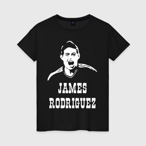 Женская футболка хлопок James Rodriguez