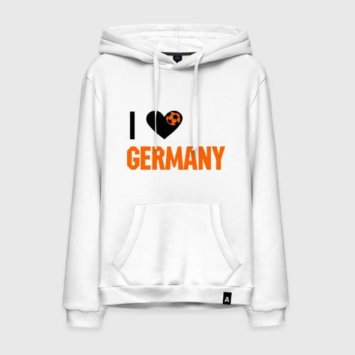Мужская толстовка хлопок I love Germany