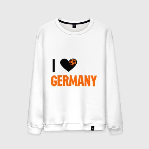 Мужской свитшот хлопок I love Germany