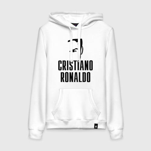 Женская толстовка хлопок Cristiano Ronaldo 7