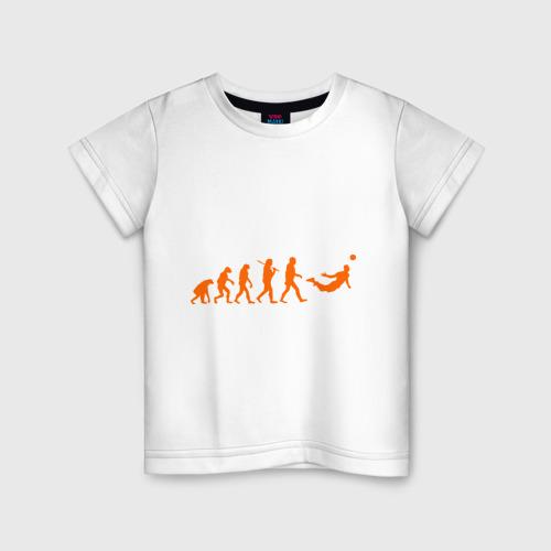 Детская футболка хлопок Van Persie evolution