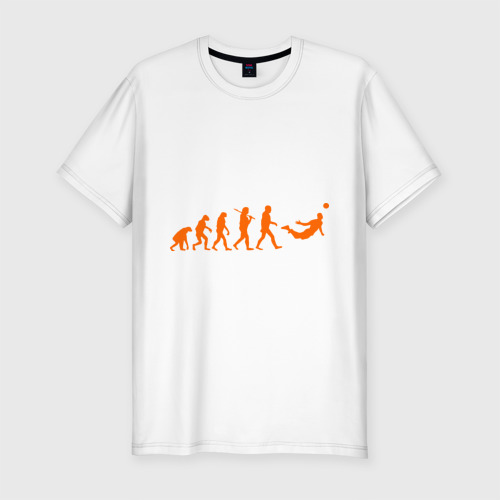 Мужская футболка хлопок Slim Van Persie evolution
