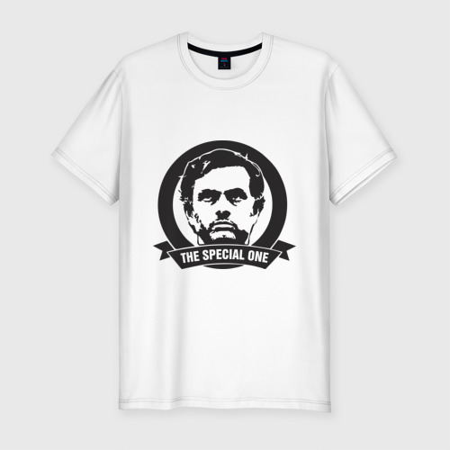 Мужская футболка хлопок Slim Jose Mourinho (Жозе Моуринью)