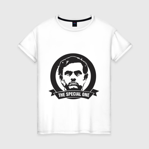 Женская футболка хлопок Jose Mourinho (Жозе Моуринью)