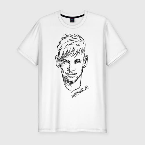 Мужская футболка хлопок Slim Neymar Jr