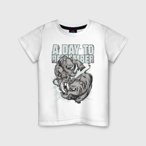 Детская футболка хлопок A Day To Remember