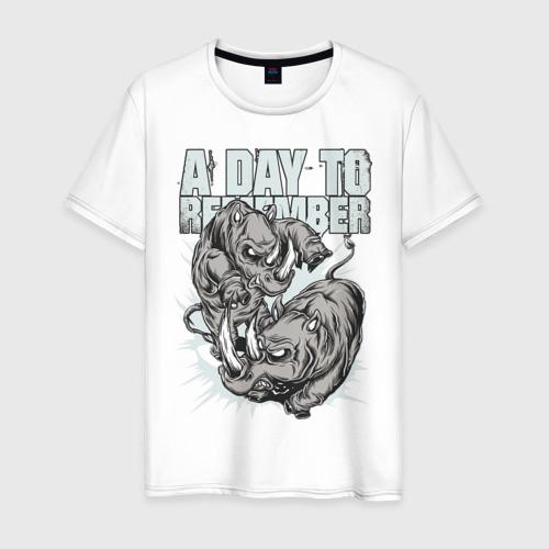 Мужская футболка хлопок A Day To Remember