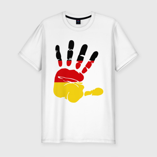 Мужская футболка хлопок Slim Рука Германии