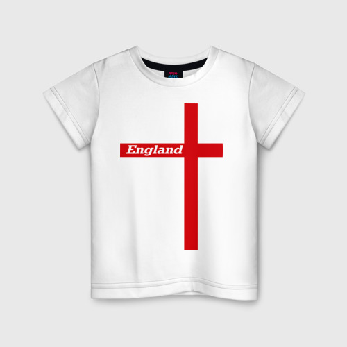 Детская футболка хлопок Сборная Англии