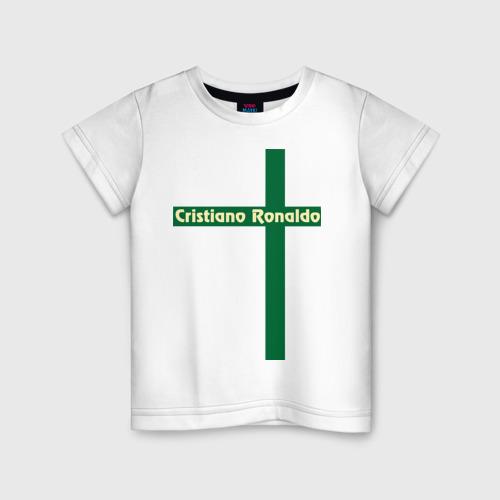 Детская футболка хлопок Cristiano Ronaldo