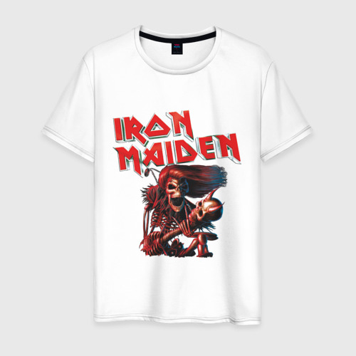 Мужская футболка хлопок Iron Maiden