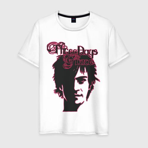 Мужская футболка хлопок three days grace