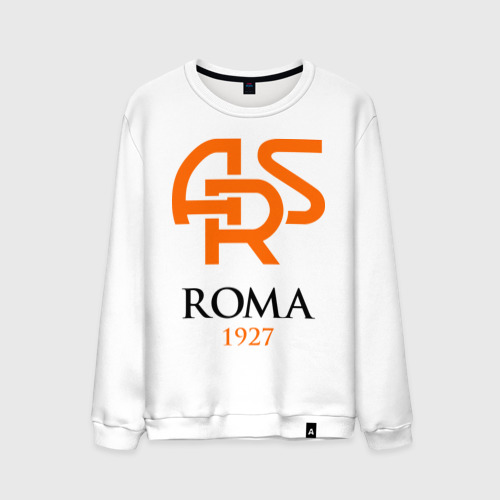 Мужской свитшот хлопок FC Roma Sign