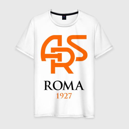 Мужская футболка хлопок FC Roma Sign