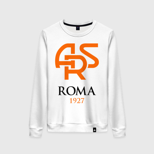 Женский свитшот хлопок FC Roma Sign