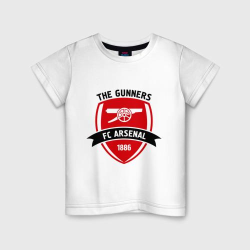 Детская футболка хлопок FC Arsenal - The Gunners